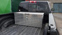 Hliníkové přepravní boxy
