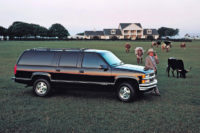 Chevrolet Suburban 5.7, 7.4 CZ doklady koupím