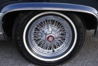 K: 15x7 chromovaná kola s výpletem (Cadillac, 80. léta)