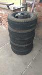 R16.5 USA VAN kola s pneumatikami 8 děr